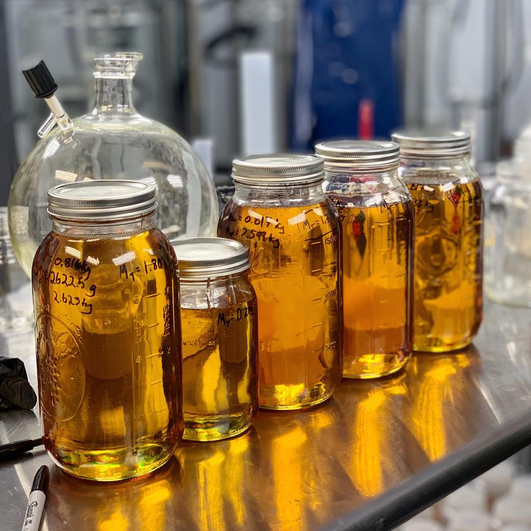 Full-Spectrum CBD Distillate Oil